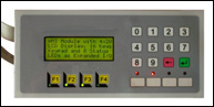 MD-HMI Keypad and 4x20 LCD Display